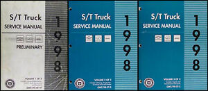 1998 chevy s10 owners manual