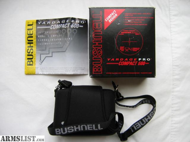 bushnell yardage pro compact 600 owners manual