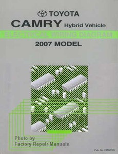 07 camry hybrid owners manual