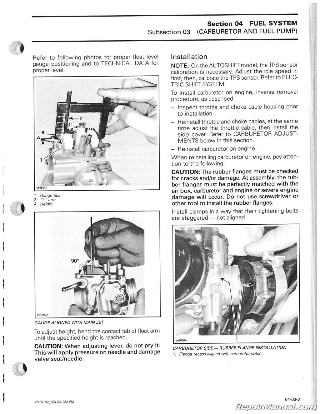 can am atv owners manual
