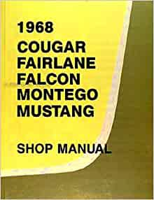1968 ford fairlane 500 owners manual
