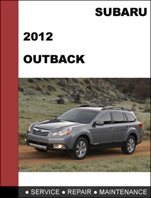2000 subaru outback service manual pdf