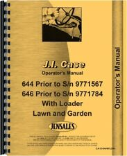 1972 case 210 garden tractor owners manual