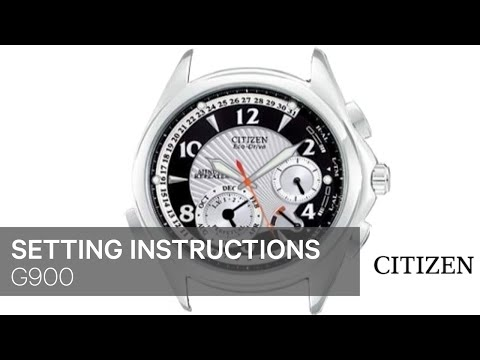 citizen eco drive owners manual