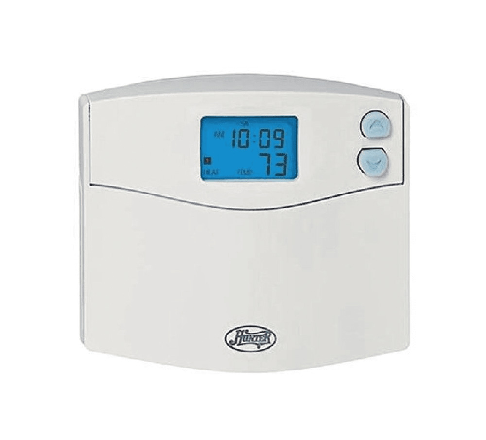 hunter 5 2 day programmable thermostat manual