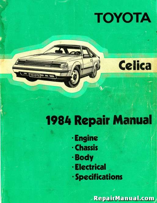 1990-1993 toyota celica owners manual