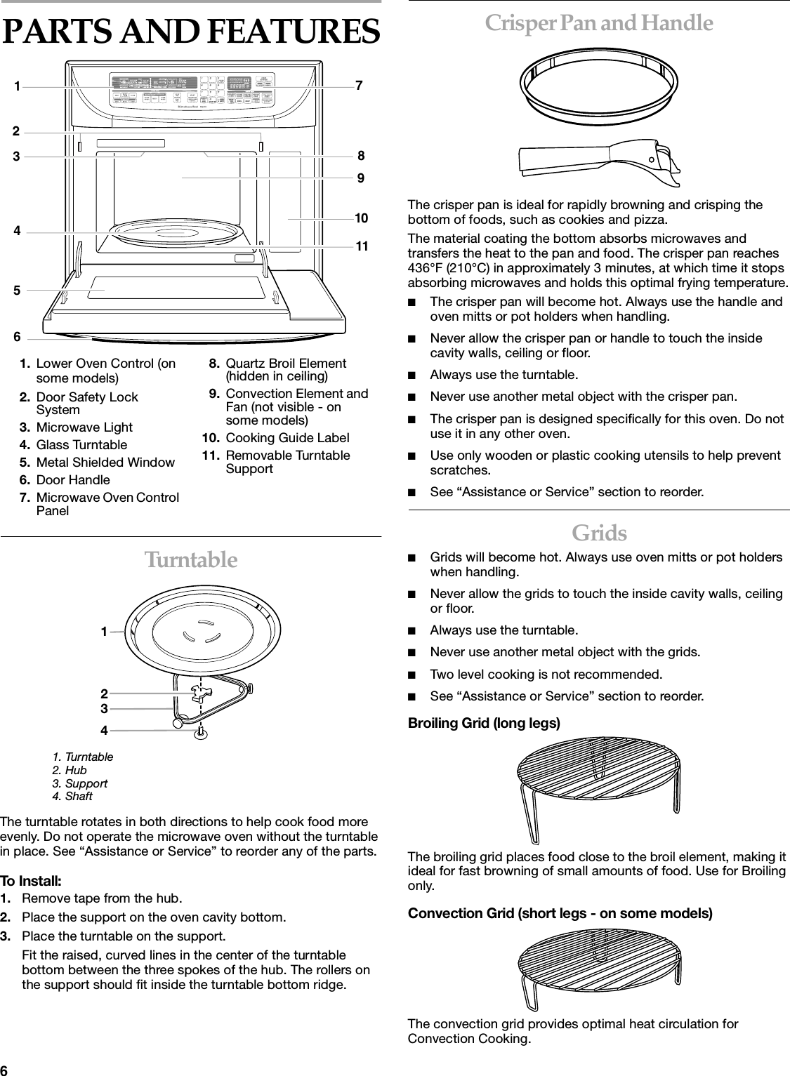 user manual for whirlpool microwave oven